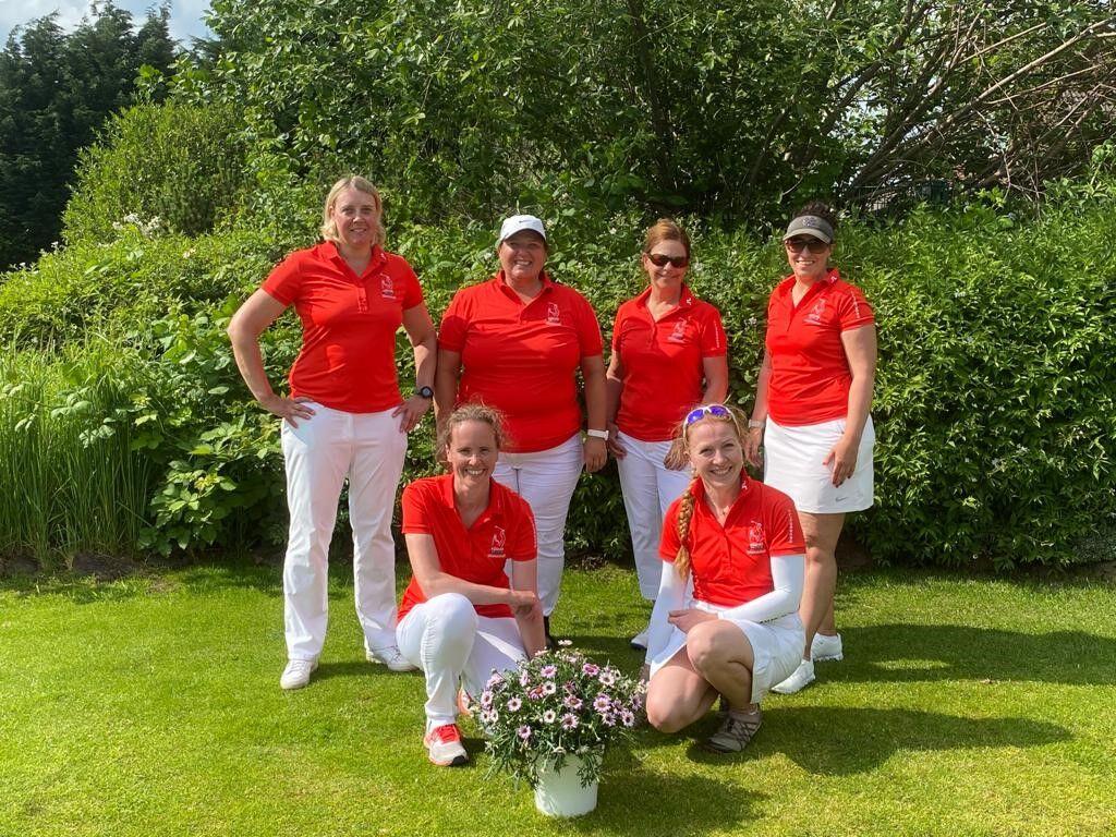 Spielerinnen der AK 30 Damen Mannschaft: AK 30 Damen I:
